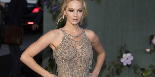 """Jennifer Lawrence dévoile son corps (ou presque) pour """"Mother"""" - La DH"""