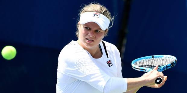"""US Open: Kim Clijsters se qualifie pour la finale du """"Champ Doubles"""" - La DH"""