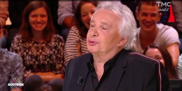 Michel Sardou crée la polémique dans Quotidien (VIDEO) - La DH