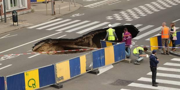 """Rupture de canalisation à Saint-Josse: les premiers rapports sur la stabilité sont """"plutôt positifs"""" - La DH"""