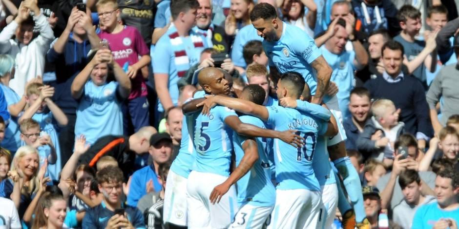 Premier League: Manchester City impressionne, Arsenal souffle