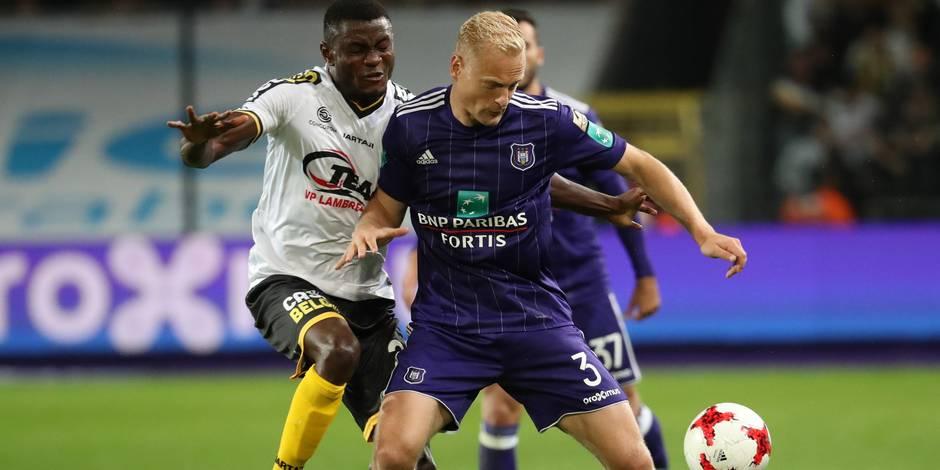 """Deschacht revient sur la victoire contre Lokeren: """"J'ai enflammé le match"""""""