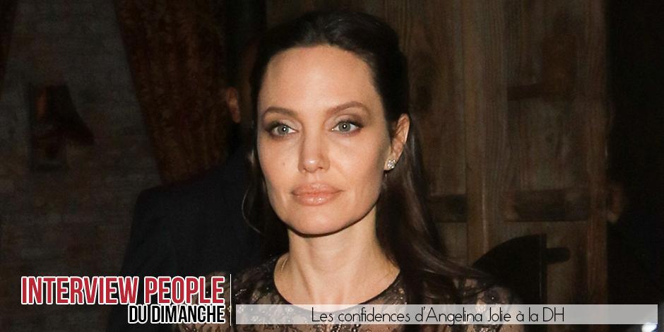 Son métier, ses enfants: Angelina Jolie nous dit tout! - La DH