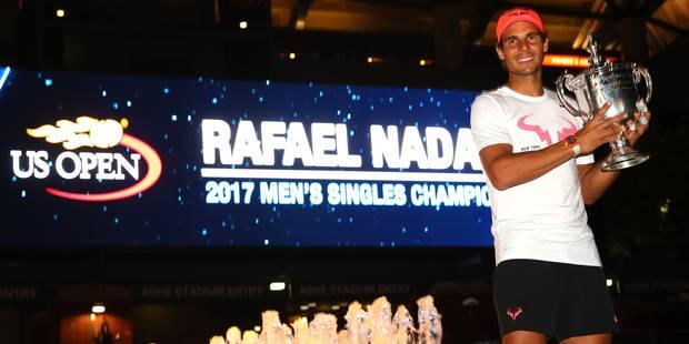"""Rafael Nadal remporte l'US Open et son 16e Grand Chelem: """"L'une de mes meilleures saisons"""" - La DH"""