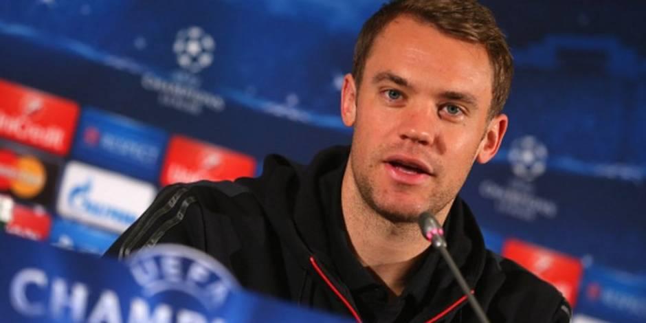 "En conférence de presse, Manuel Neuer lance froidement: ""On va battre Anderlecht !"""
