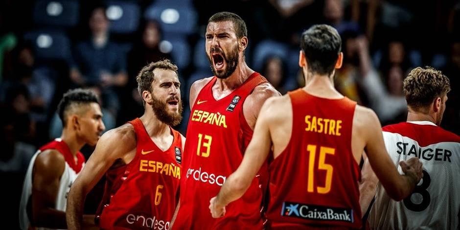 Eurobasket: Marc Gasol était trop fort pour l'Allemagne (72-84)