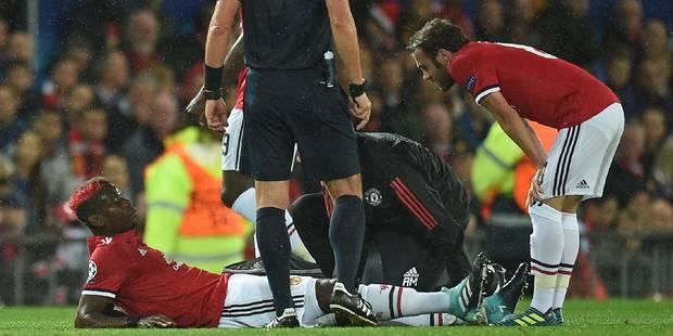 """Pogba pourrait être absent """"plusieurs semaines"""", une aubaine pour Fellaini ? - La DH"""