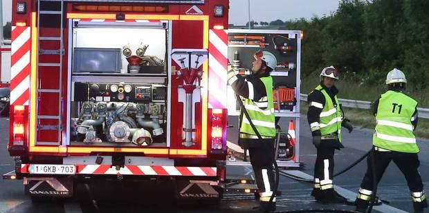Intempéries: une branche arrachée provoque un accident sur le ring intérieur de Bruxelles - La DH