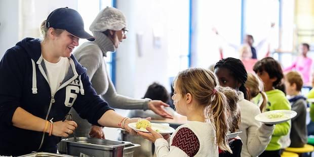 Boitsfort: Une cantine scolaire lutte contre le gaspillage alimentaire - La DH