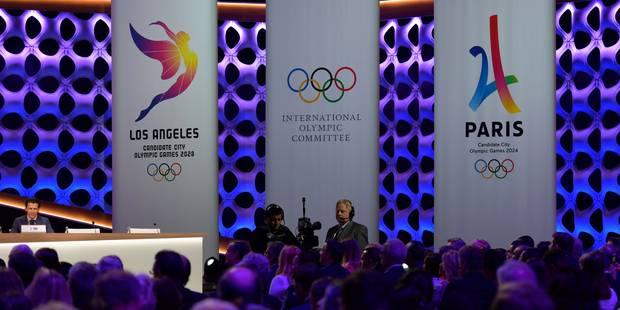 Officiel: Paris organisera les jeux Olympiques 2024, Los Angeles ceux de 2028 - La DH