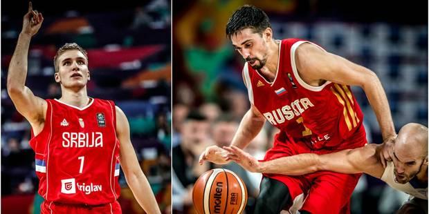 Eurobasket : la Russie et la Serbie passent en demi-finales - La DH