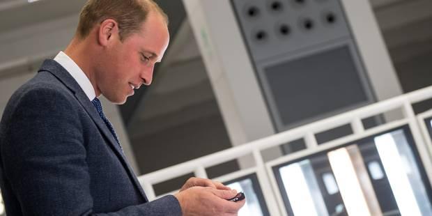 Le prince William gaffe et donne un indice sur la date d'accouchement de Kate - La DH