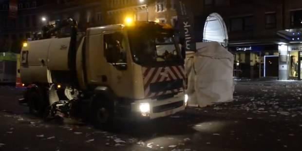 Wallos: la ville déjà propre grâce aux ouvriers communaux (VIDEOS) - La DH