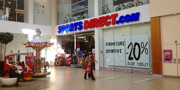 Nivelles : à la recherche d'un accord chez SportsDirect - La DH