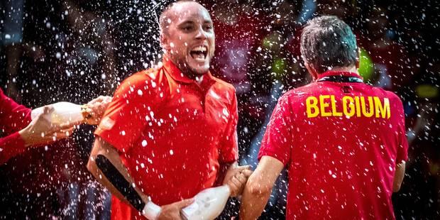 """Darcis après sa victoire décisive en Coupe Davis: """"On veut le gagner, ce Saladier d'Argent !"""" - La DH"""