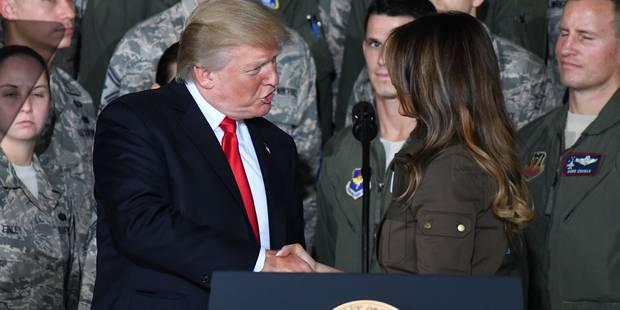 Melania et Donald Trump: ça ne respire pas l'amour fou - La DH