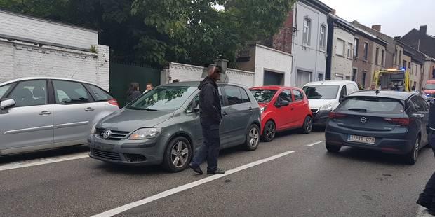 Montignies-sur-Sambre: collision en chaîne entre 4 voitures - La DH