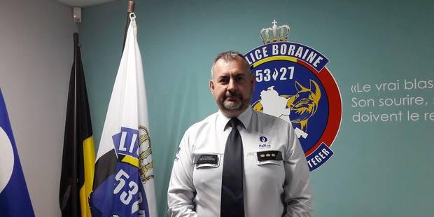 Jean-Marc Delrot est le nouveau chef de corps à la zone de police boraine - La DH
