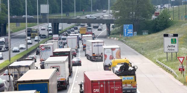 Quatre voitures accidentées à Diegem: de longues files sur le ring intérieur - La DH
