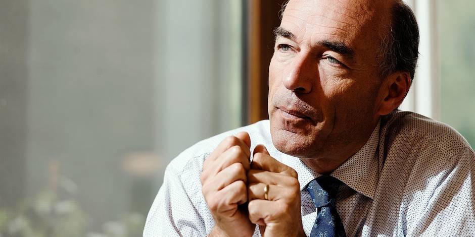 Wavre - Olivier de Wasseige - patron de l'UWE (Union Wallonne des entreprises)