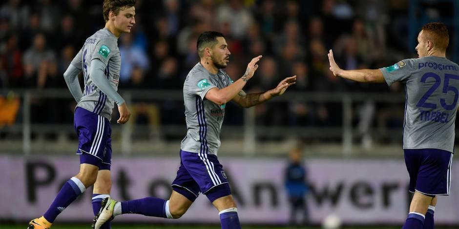 Les Mauves prennent les devants! Waasland-Beveren - Anderlecht 1-2 (DIRECT)