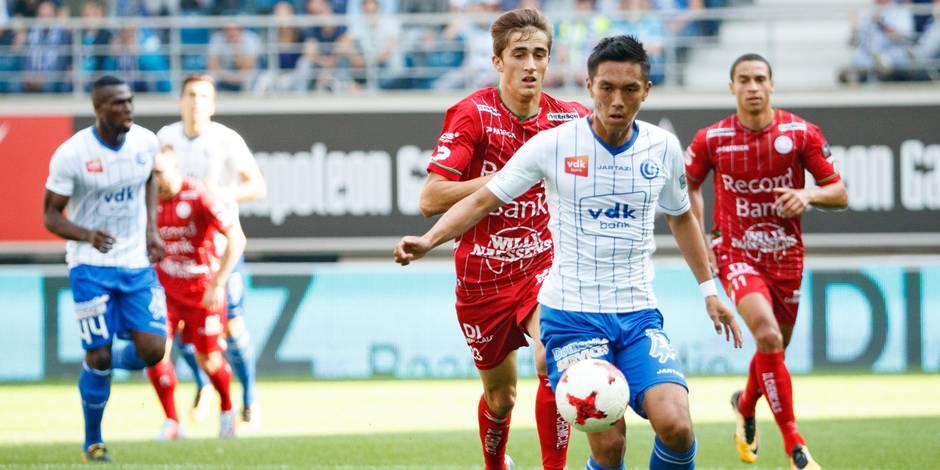 Zulte Waregem inflige une nouvelle défaite à La Gantoise (0-1)