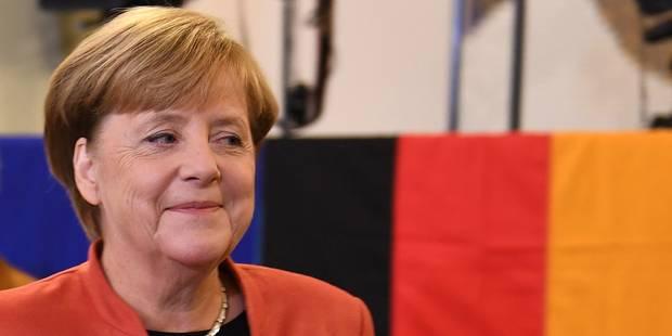 Législatives en Allemagne: la CDU de Merkel remporte selon les premières estimations - La DH