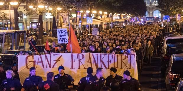 Allemagne: les manifestations contre l'extrême droite se répandent après les élections - La DH