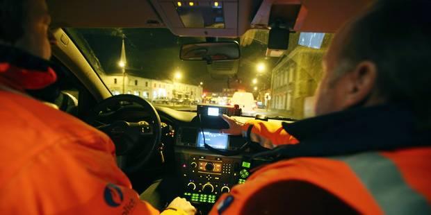 Incourt : Ivre, le conducteur prend la fuite en voyant la police - La DH