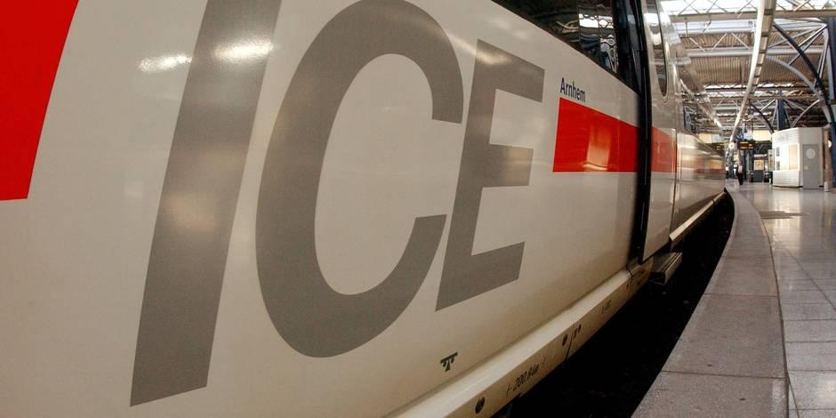 Soumagne : un train ICE en panne dans le tunnel