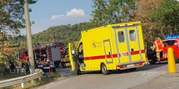 Deux blessés sur la N 684 à Amay - La DH