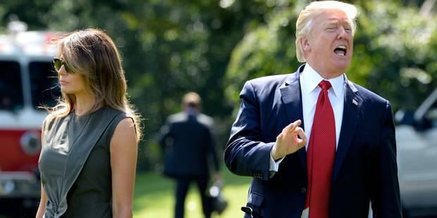 Ces anciens enregistrements dérangeants de Trump au sujet de sa vie intime avec Melania - La DH