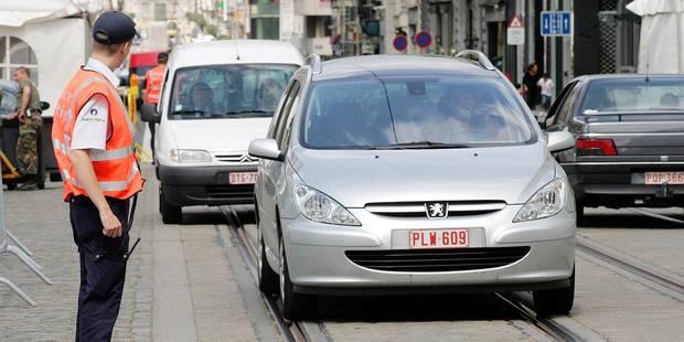 Bruxelles: Priorité à la mobilité pour les zones de police - La DH