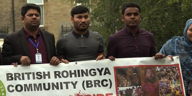 En Angleterre, les Rohingyas appellent à la mobilisation (VIDEO) - La DH