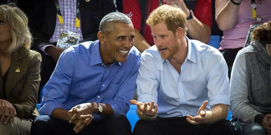 Le prince Harry et Barack Obama, les deux inséparables !