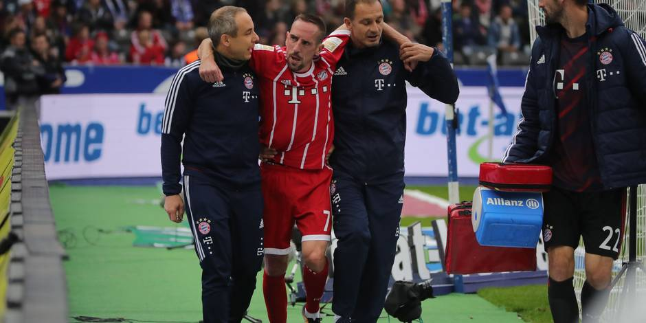 Franck Ribery gravement blessé au genou