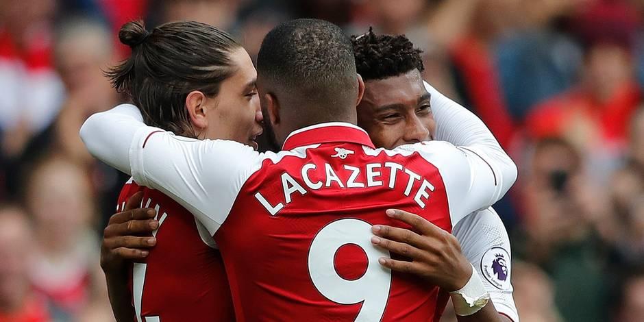 Premier League: Arsenal tranquille, Liverpool rame