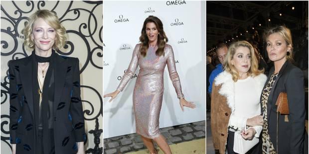 Quelles stars a-t-on croisé à la Fashion Week parisienne ? - La DH