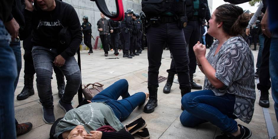 """Catalogne: l'ONU appelle Madrid à enquêter sur """"tous les actes de violence"""""""