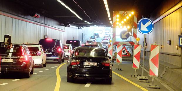 Tous les tunnels bruxellois rénovés d'ici 15 ans - La DH