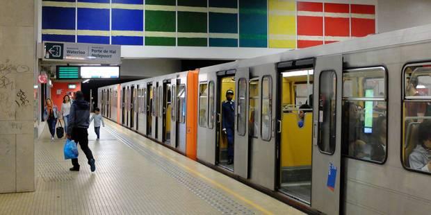 La circulation des trams interrompue entre Rogier et Porte de Hal ce week-end - La DH