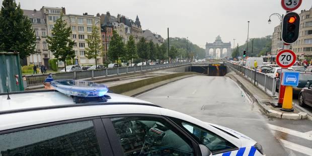 Les tunnels bruxellois Cinquantenaire et Loi rouverts à la circulation - La DH