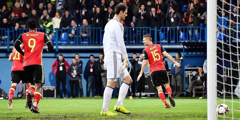 """Meunier sur son but : """"comme un but marqué à Genk avec Bruges"""""""