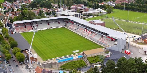 Stade Tondreau : le nouveau parking sur les rails - La DH