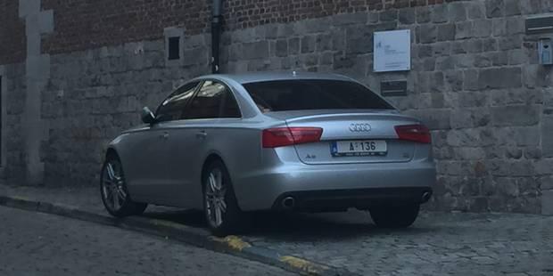 La voiture du gouverneur mal garée à Mons pour cause ... de problèmes intestinaux - La DH