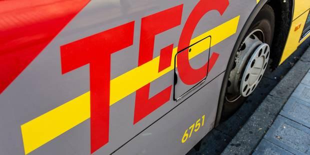 Namur-Luxembourg : TEC fortement perturbé, SNCB quelque peu épargnée - La DH