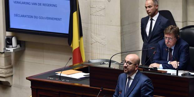 """Charles Michel: """"Les gens n'attendent de nous qu'une chose: que nous gouvernions"""" - La DH"""