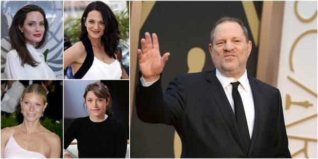 Angelina Jolie, Emma de Caunes ,... Les témoignages d'agressions sexuelles contre Weinstein s'empilent - La DH