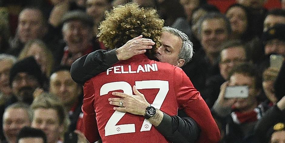 Marouane Fellaini - José Mourinho, l'amour foot