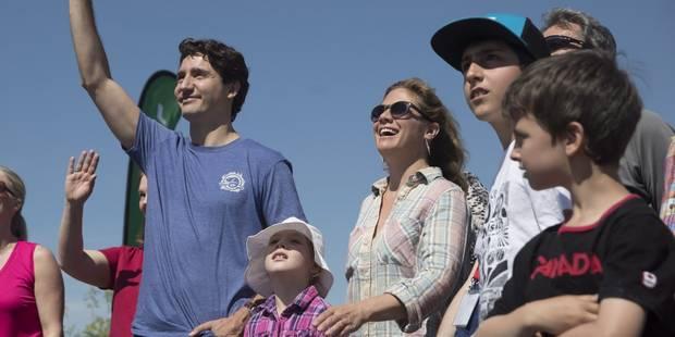 Le couple Trudeau fait tout pour que leurs enfants deviennent féministes - La DH
